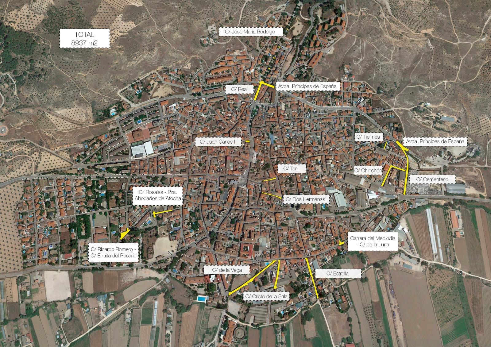 PIR mapa