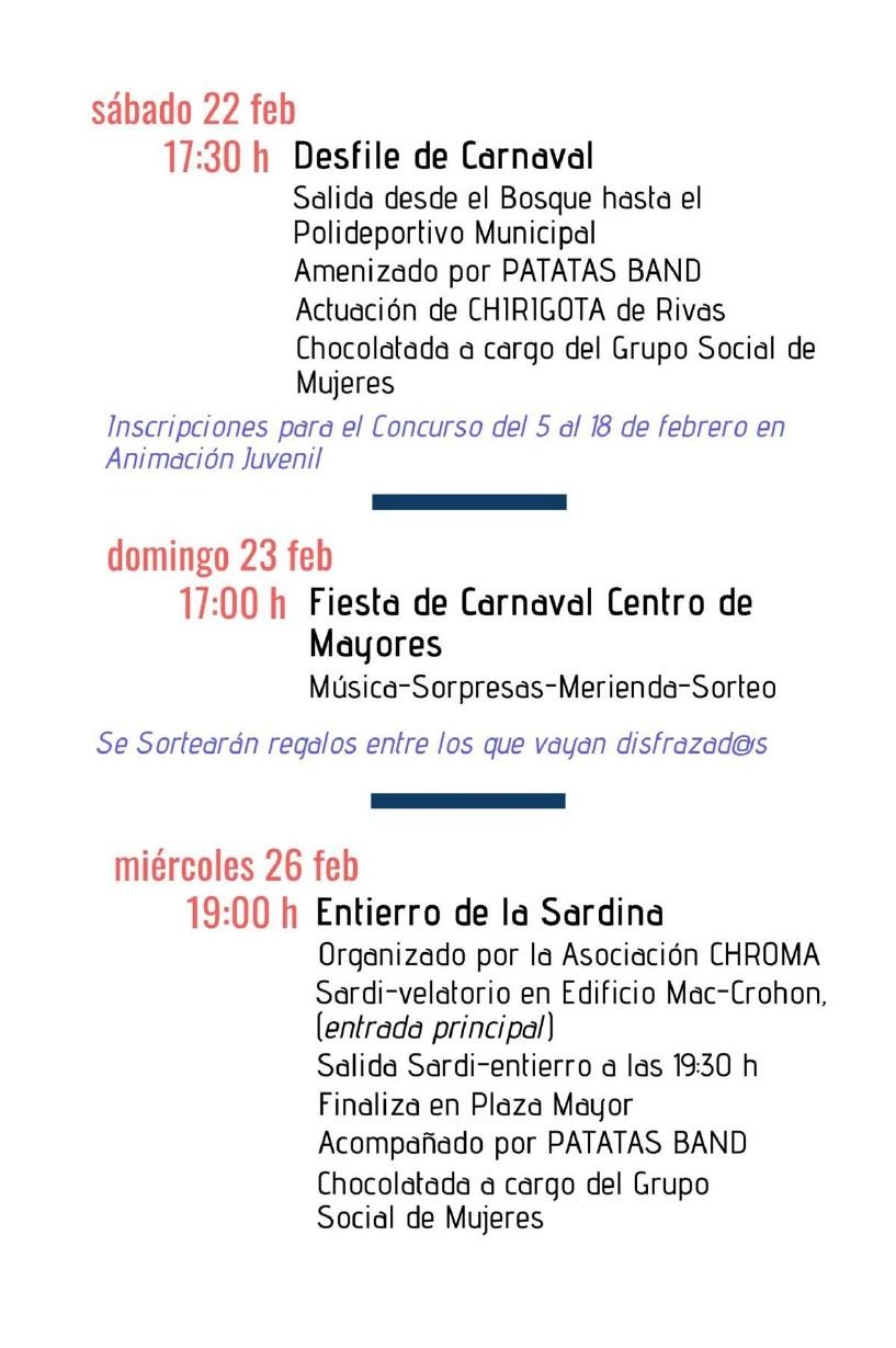 carnaval2020 programación