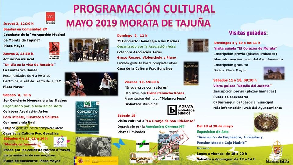 programacion cultural mayo19